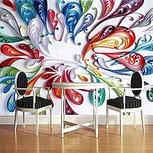 Leegt 3D Tapete Wallpaper Mural Benutzerdefinierte Wandbild Tapeten Hochwertige Moderne Mode Einfache 3D Stereoskopische Graffiti Kunst Wandmalerei Wandmalereien 300cmX200cm
