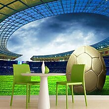 Leegt 3D Tapete Wallpaper Mural Custom 3D Fussball