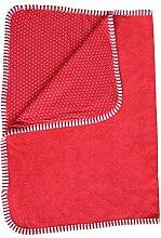 Leela Cotton Babydecke aus reiner Bio-Baumwolle