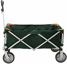 Leetianqi Gartenwagen, robust, zusammenklappbar,