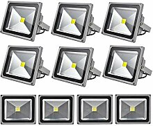 Leetop 10X 30W LED Strahler Kaltweiß Fluter Licht