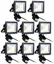 Leetop 20W SMD LED Strahler Fluter IP65 Flutlicht