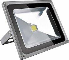 Leetop 50W LED Strahler Kaltweiß Fluter Licht