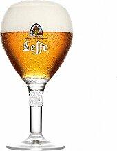 Leffe Biergläser Bier Kelch 33cl + 1 Freie