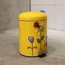 Lefran Haushalt Mülleimer Badezimmer Mit
