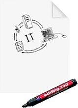 Legamaster Flipchart-Folie Magic-Chart Paperchart