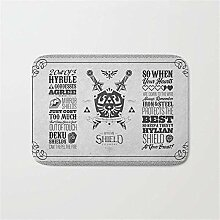 Legende von Zelda Hylian Shield Foundry Logo Ikone