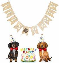 Legendog Party Banner Haustier Hund