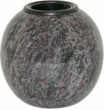 legendURN Grabvase aus Granit 'Kugel'
