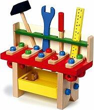 Legler Holzspielzeug Holz Werkbank Profi