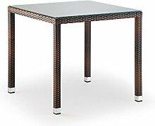 Legno&Design Tisch Quadratisch stapelbar Outdoor