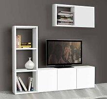 Legno&Design TV-Schrank, Bücherregal Wohnzimmer