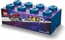 LEGO 8 Knoppen Aufbewahrungsbox, Plastik, Blau,