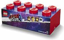 LEGO 8 Knoppen Aufbewahrungsbox, Plastik, Rot, One