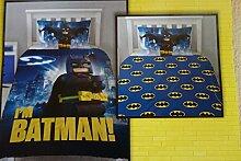 Lego Batman Bettwäsche, 1 x Kissenbezug 80 x 80