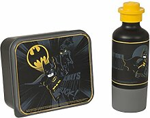 LEGO Batman Lunch-Set, Brotdose & Trinkflasche,