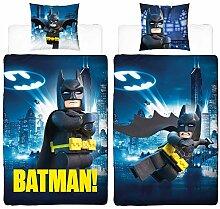 Lego Batman Movie Bettwäsche 2 tlg. 80x80 +