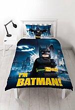 LEGO Batman Movie Bettwäsche-Set mit großem