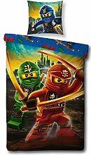 LEGO Bettwäsche Kompatibel Ninjago Motiv, 135x200