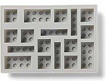 LEGO Eiskübel grau #41000003 Silikon