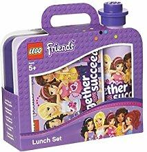 LEGO Friends Lunch-Set, Brotdose & Trinkflasche,