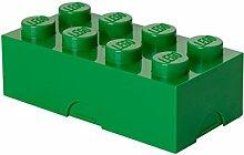 Lego Lizenzkollektion 40231734 - Lunchbox Brotdose, 8 Noppen, dunkelgrün