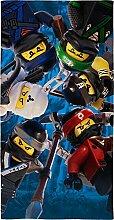 Lego Ninjago Kinder Badetuch Motiv Battle 70 x 140