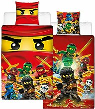 Lego Ninjago Kinder-Bettwäsche Fire Champion -