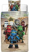Lego Ninjago Kinder Bettwäsche FLANELL / BIBER 2