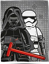 LEGO Star Wars 'Seven' Fleece Decke – Großer Print Design