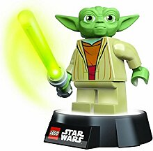 LEGO Star Wars Meister Yoda Tischlampe Taschenlampe mit Lichtschwert USB Jedi Geschenk