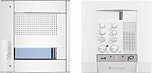 Legrand 2-Draht Audio-Set POLYX Sfera Allwhite UP, 1 Familie, weiß, 905121