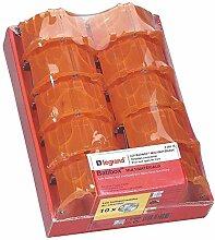 Legrand Batibox Montage ER Boxen 10, gelb, 200215