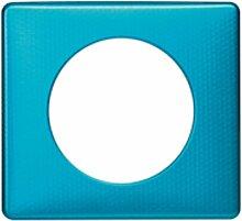 Legrand Céliane Platte 1Loch, blau, LEG98856