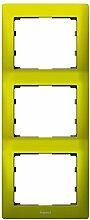 Legrand Galea Life 771927–gl-placa 3ele sehen grün Magico