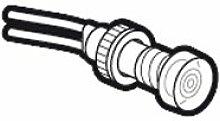 Legrand leg02832Luminous Anzeige für Motor Leistungsschalter 400V farblos