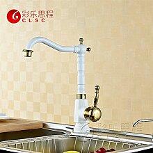 Lei Romantische RGB Glas Wasserfall Wasserhahn mit LED Licht Waschbecken Tap in Badezimmer Küche