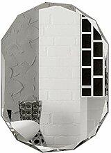 Lei- Spiegel Wohnzimmer Badezimmer ohne Rahmen an
