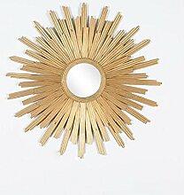 LEI ZE JUN UK- Moderne europäische Wohnzimmer-Sun-Dekoration-Spiegel-Wand-angebrachter Badezimmer-Spiegel-Eitelkeits-Spiegel-Kosmetik-Spiegel Wandspiegel ( größe : A )