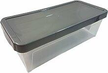 Leicht stapelbar Durable Silber Grau 9L DVD