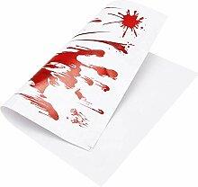 leicht zu entfernen Halloween Handprint Aufkleber,
