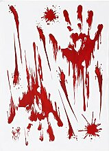 leicht zu entfernen Transparente Kante Bloody