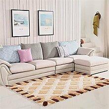 Leicht zu reinigen Exquisite Pattern Teppich Wohnzimmer Sofa Vorderseite Teppich Schlafzimmer Bedside Teppich Baby Crawling Mat ( größe : 140*200cm )