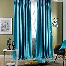 Leidener Tülle Top Classic Solid Blau Bright Samt