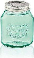 Leifheit 36319Vorratsglas, Glas, Grün, 12,5x