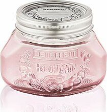 Leifheit Einmachglas 3er Set 0,5 L Tender Rose,