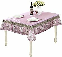 Leinen Floral Tischdecke Verschiedener Größe Mehrzweck Stoff Muster Thanksgiving Geburtstag Halloween Ostern Weihnachten Tischdecke Deckt Lila