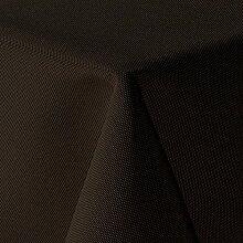 Leinen Optik Tischdecke Eckig 130x340 cm