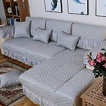 Leinen-sofa-matte/Stoffe,Europäisch,Vier Jahreszeiten,Sofa Setzt/Modernes Sofa-handtuch/Sommer-sofa-matte-C 80x80cm(31x31inch)