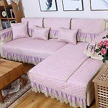 Leinen-sofa-matte/Stoffe,Europäisch,Vier Jahreszeiten,Sofa Setzt/Modernes Sofa-handtuch/Sommer-sofa-matte-A 80x160cm(31x63inch)